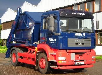 Alba Container-Fahrzeug