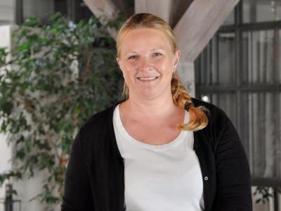 Mitarbeiterin Jessica Richter