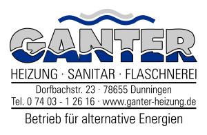 Logo Ganter Heizung-Sanitär-Flaschnerei
