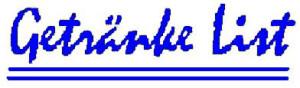 Logo Getränke List