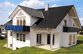 Musterhaus der Firma Moosmann Massivbau